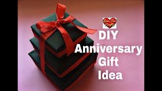 DIY - Anniversary Gift Idea   Valentine's Day/ Anniversary Card