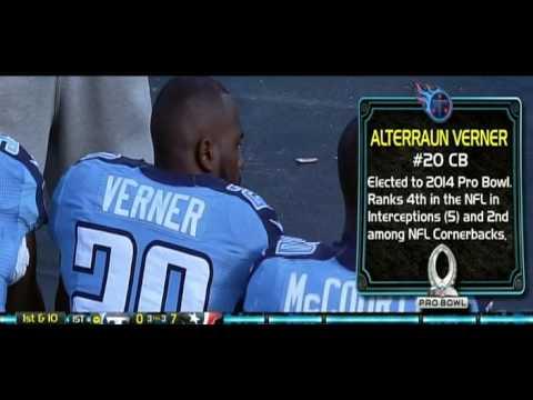 Pro Bowl Announcement Alterraun Verner - TITANVISION