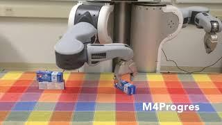 Goal directed Robot Manipulation through Axiomatic Scene Estimation