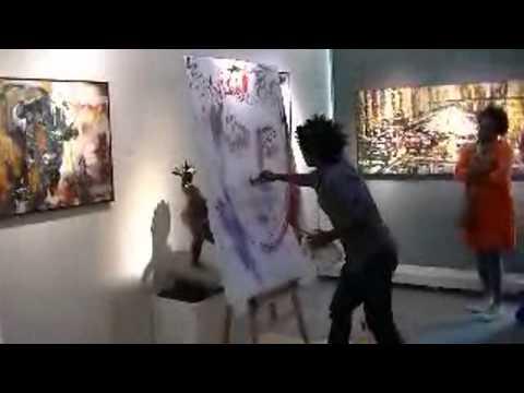 Yared Nigussu at Kurbatoff Gallery