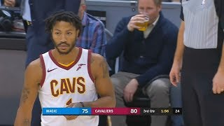 Derrick Rose Returns After Leaving Cleveland Cavaliers! Cavaliers vs Magic January 18, 2018