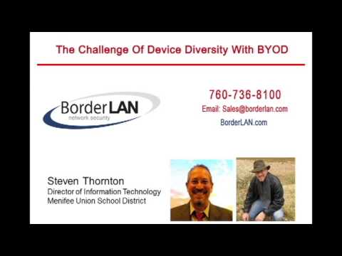 The Challenge of Device Diversity with BYOD