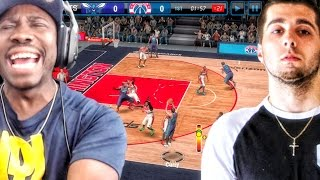 ANTODABOSS HACKED MY GAME! NBA Live Mobile 16 Gameplay Ep. 13