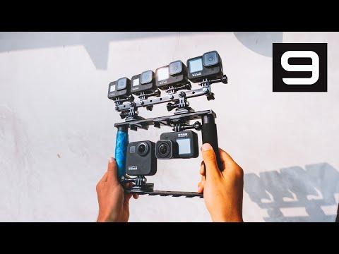 GoPro HERO9 - Horizon Leveling & HyperSmooth 3.0 Comparison