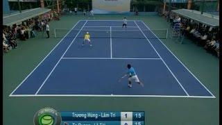 Trận chung kết ngoại hạng A - Giải quần vợt Doanh nhân Cienco 4