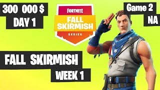 Fortnite Fall Skirmish Week 1 Day 1 Game 2 NA Highlights  (Group 2) - Hold The Thrones