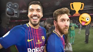 SEVILLA 0-5 BARÇA | Player cam celebrations
