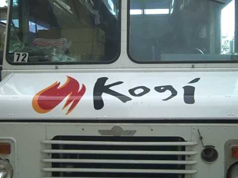 Inside the KOGI truck