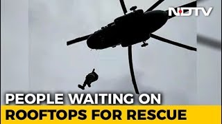 Massive Air Rescue Operation On In Rain-Ravaged Kerala, 73 Dead