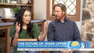 "Chip & Joanna ""Fixer Upper"" Chat Divorce Rumors & Life In Waco"