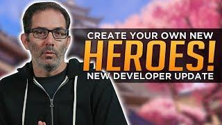 Overwatch Developer Update: Create NEW HEROES & Gamemodes!