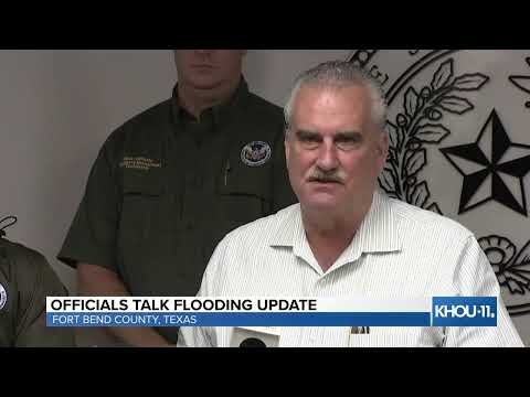 Houston weather: Ft. Bend County officials discuss plans for flooding
