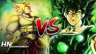 Broly (Dragon Ball Super) VS Broly (Original) | Dragon Ball Super: Broly