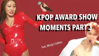 KPOP AWARD SHOW MOMENTS I THINK ABOUT ALOT PART 3