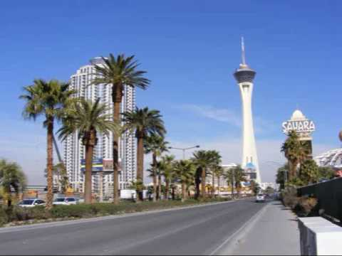 Pictures of Las Vegas - Strip and Downtown (By road and Air), NV, US