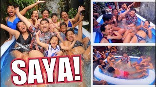 NAG SWIMMING ANG MGA BAYUT SA KALSADA (FIRST TIME EVER!!) | LC VLOGS #241