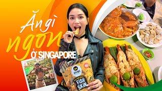SITA VLOG   ĂN SẬP SINGAPORE   ĂN GÌ Ở ĐÂU NGON - BỔ - RẺ ???