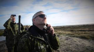 Danskere øver med amerikanske kamphelikoptere