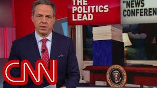 Tapper: Trump's battle with facts continues