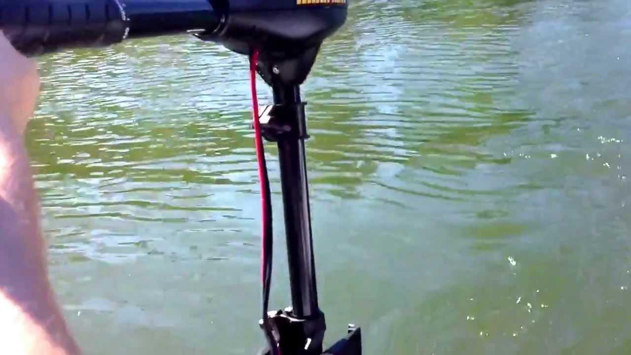 Мотор для ловли троллингом