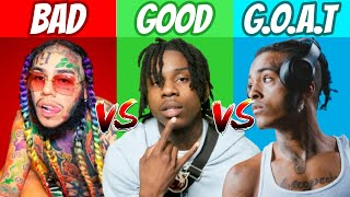 BAD vs GOOD vs GOAT Rappers! (2021)