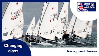 British Youth Sailing - changing class - which class?