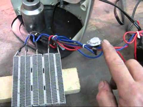 Ptc Ceramic Space Heater Repair And Safety Demonstration