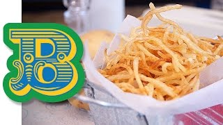 How to make perfect Matchstick Fries - Batata Palha