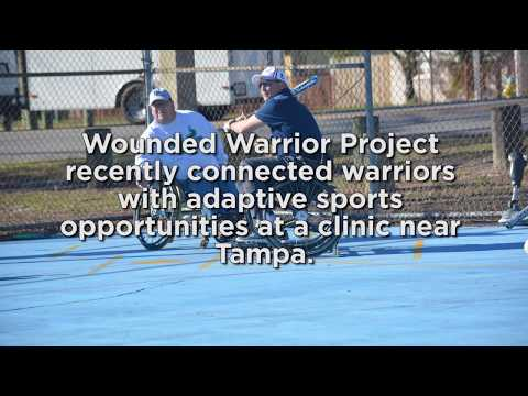 Wounded Warrior Project brought veterans to learn about adaptive sports at a recent clinic near Tampa.