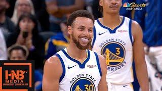 LA Lakers vs  GS Warriors - 1st Half Highlights | October 18, 2019 NBA Preseason