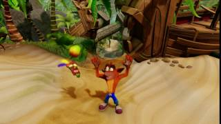 Crash Bandicoot N. Sane Trilogy winning idle animation announced