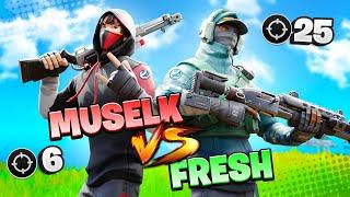 Muselk vs Fresh (Fortnite Kill Race Challenge)