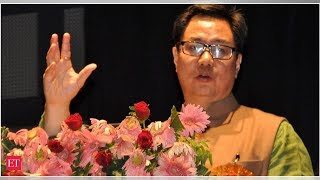 Kiren Rijiju hits out at Congress for 'settling' infiltrators in protected land in Northeast