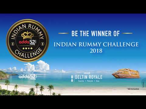 Be the Winner of Indian Rummy Challenge, 2018