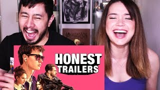HONEST TRAILERS: BABY DRIVER   Reaction!