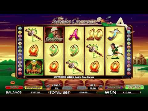 The Snake Charmer™ free slots machine by NextGen Gaming preview at Slotozilla.com