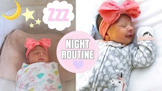 SOLO MOMMY NIGHT ROUTINE WITH A NEWBORN | 2 WEEKS OLD♡