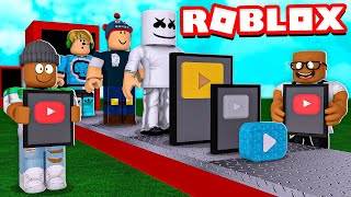 We became the most POPULAR YouTubers in the World! (Roblox)