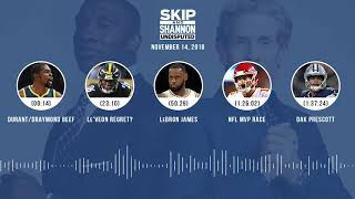 UNDISPUTED Audio Podcast (11.14.18) with Skip Bayless, Shannon Sharpe & Jenny Taft | UNDISPUTED