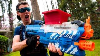 NERF WAR: THE STOLEN NERF GUN (Drac Vs Aaron)