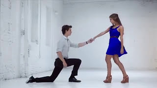 Ansel Elgort and girlfriend Violetta Komyshan in Amanda Uprichard Spring '13