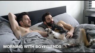 relaxing Sunday morning | WAKE UP WITH US | Justin and Nick