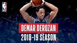 DeMar DeRozan's Best Plays From the 2018-19 NBA Regular Season