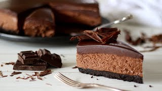 Chocolate Cheesecake Recipe | No Bake Cheesecake Recipe