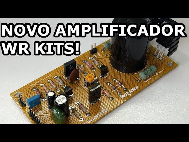 AMPLIFICADOR DE ÁUDIO DARLINGTON EM PCB, VEJA O RESULTADO!