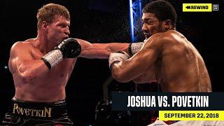 FULL FIGHT | Anthony Joshua vs. Alexander Povetkin (DAZN REWIND)