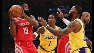 Los Angeles Lakers vs Houston Rockets_NBA Highlights_(February 21st 2019)