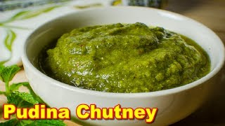 Pudina (Mint) Chutney Recipe