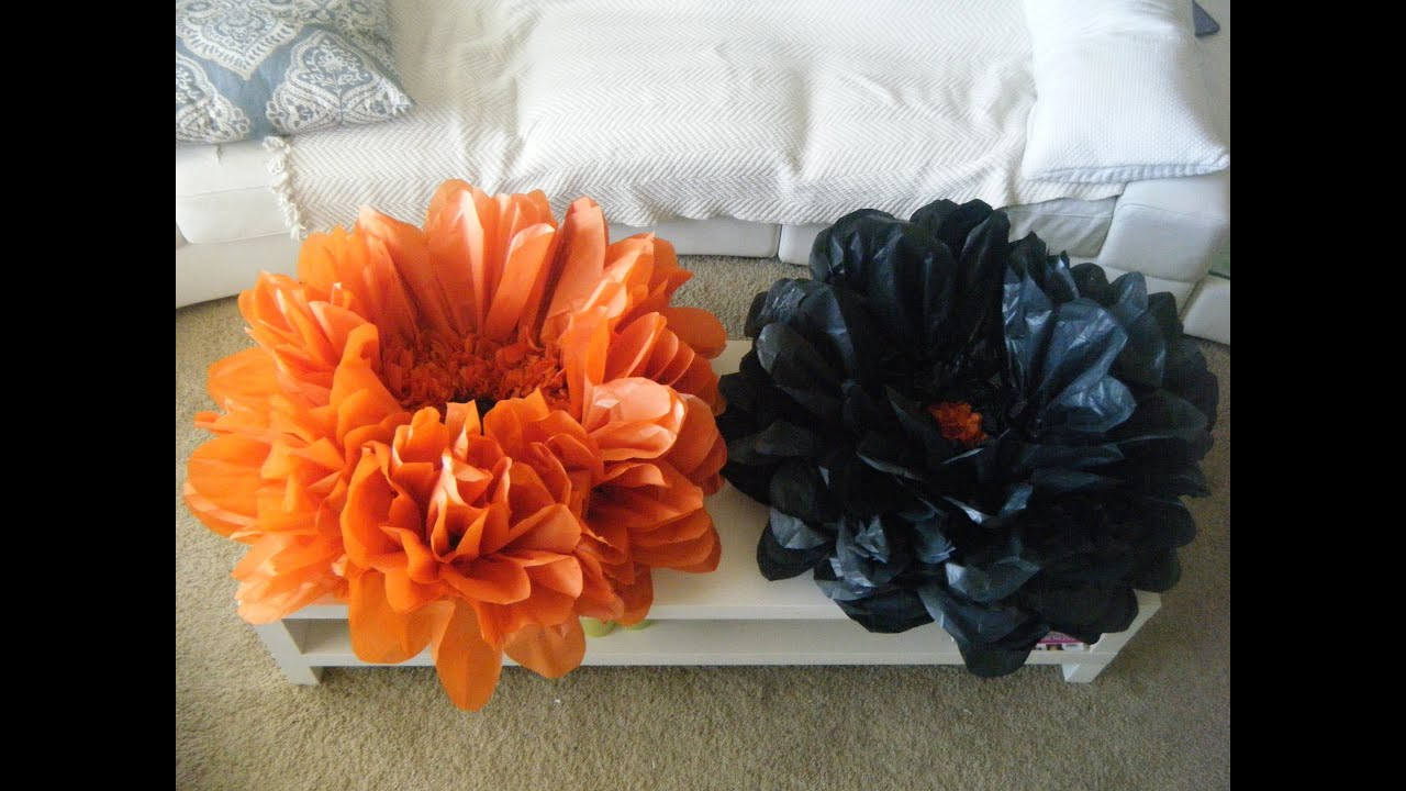 Paper flowers youtube images fresh lotus flowers how to make tissue paper flowers youtube image collections flower mightylinksfo