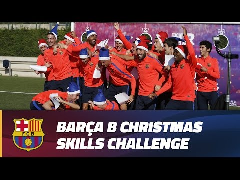 Barça B – Skills & Merry Christmas